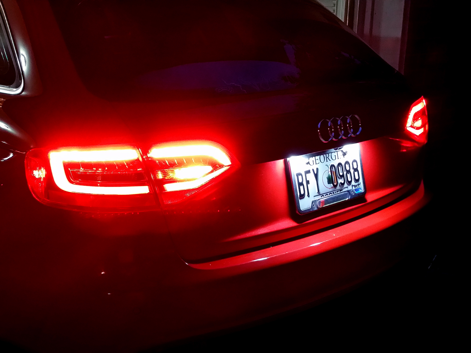 For Sale 2009 Audi A4 20t S Line Prestige Quattro Avant Wiring Harness 2008 Which Usually Requires A Lot Of Extra Configuration To Enable The Super Bright Rear Fog Lights Came In Very Handy At 5400 Ft On Haw Knob Mountain