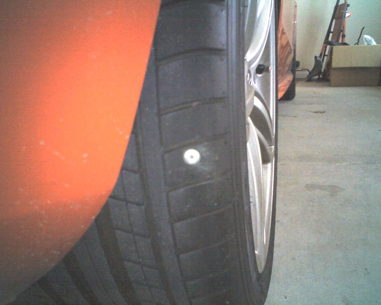 Can I patch or plug this tire? Or is it KIA? - AudiWorld Forums