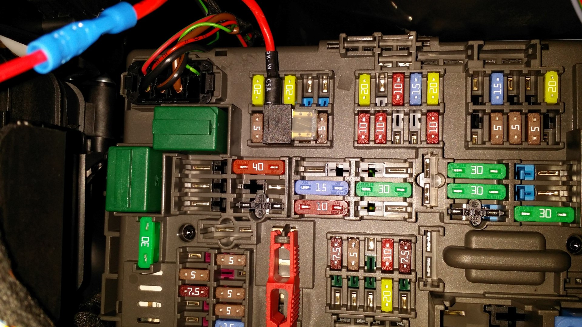 How to tap into fuse box wiring diagram images