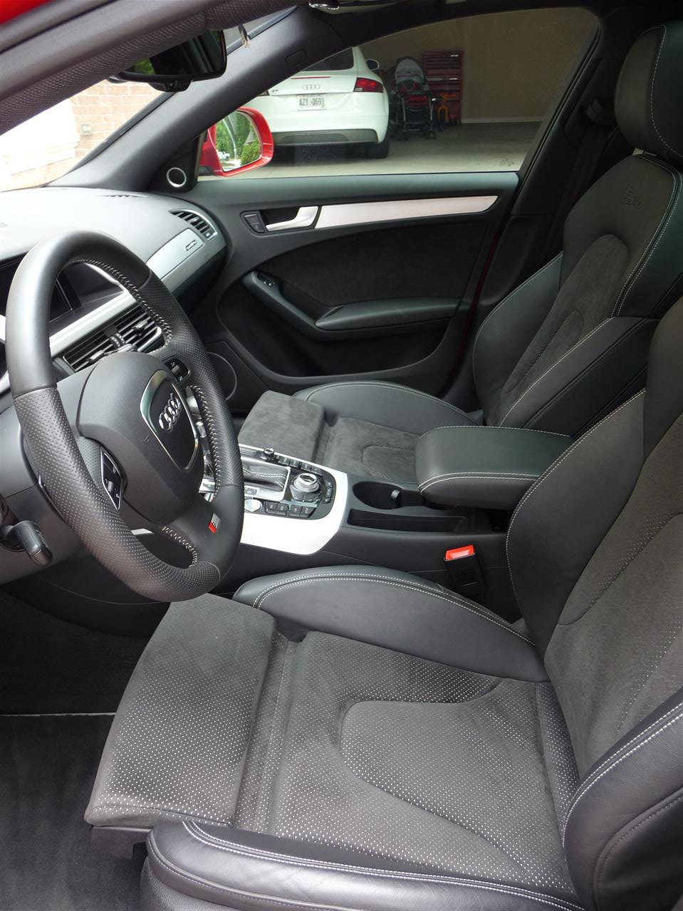S Line Seats With Alcantara Inserts