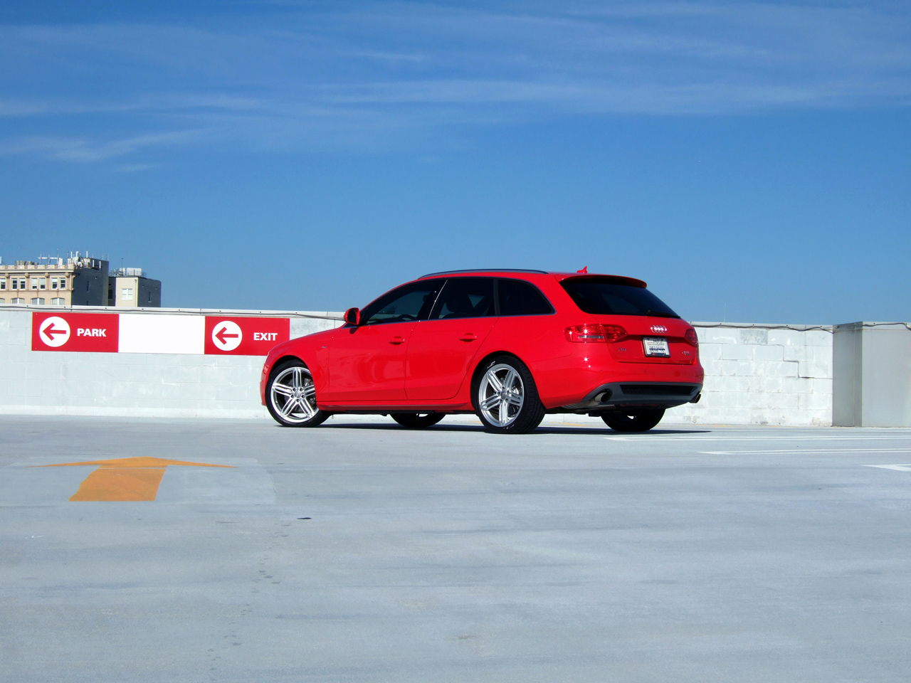 Does anyone else have a brilliant red a4 for Garage audi 93 livry gargan